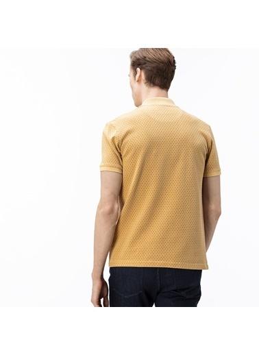 Lacoste Erkek Slim Fit Tişört PH0033.YZU Sarı